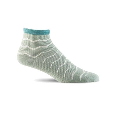 Plantar Ease Quarter (Lt. Grey) (Womens)