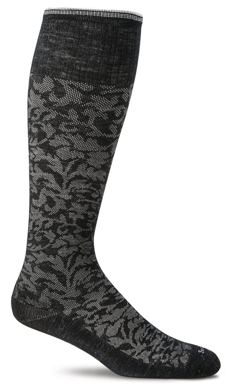 Damask Black (Womens)
