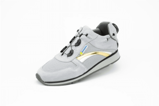 Asti Lt Grey Hemi Sports Shoe