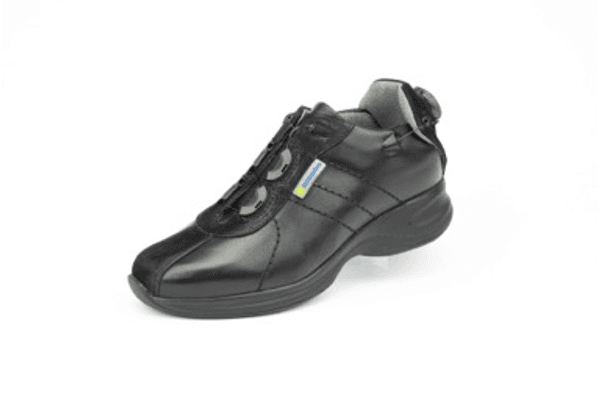Capri Black Hemi Casual Shoe