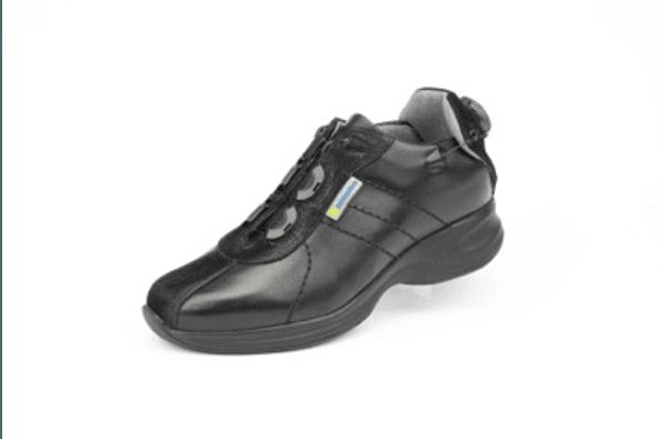 Capri Black Hemi Casual Shoe