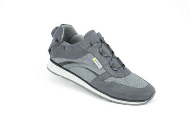 Cremona Grey Hemi Sports Shoe