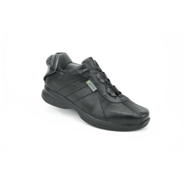 Genova Black Hemi Casual Shoe