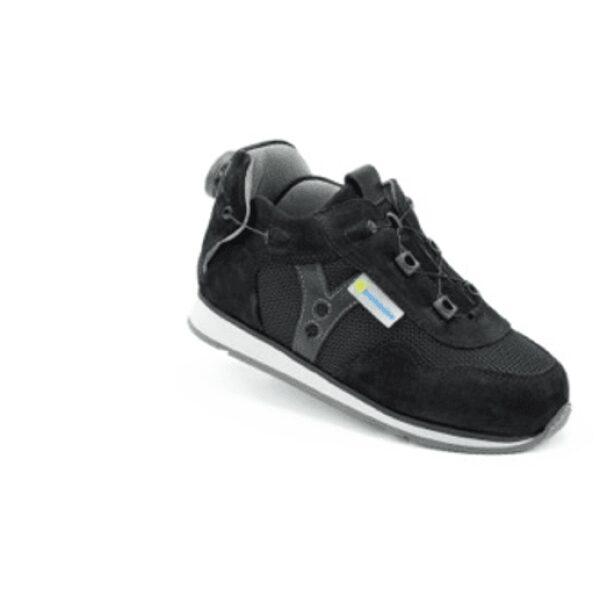 Roma Black AFO Shoe