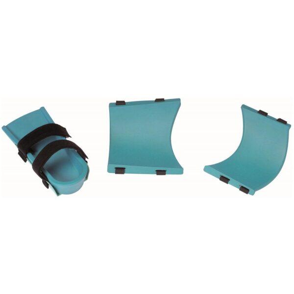 Ensemble de coques confort en PU pour attelle de genou Kinetec® avec clips.