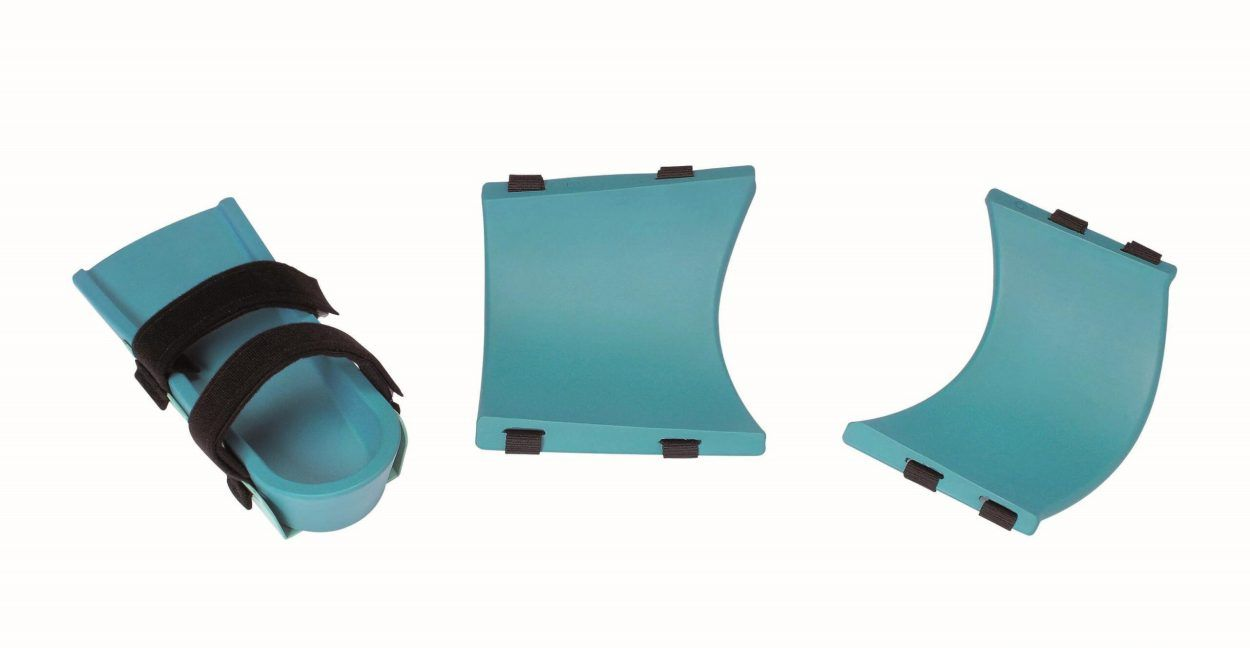 PU Leg Support Set for Knee CPMs With Frame Clips