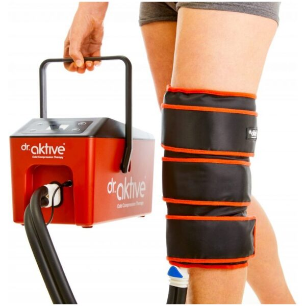 Cryo Pro Unit w Knee Wrap Hot Cold Therapy scaled